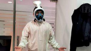 Българин в Аликанте с иновативна маска за предпазване от коронавируса