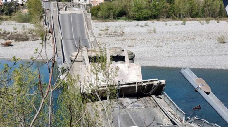 """Падна мост в Тоскана, коронавирусът """"спаси"""" животи"""