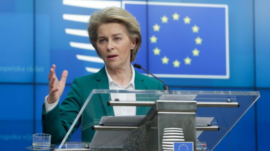 "Урсула фон дер Лайен: ЕС да приеме план ""Маршал""!"