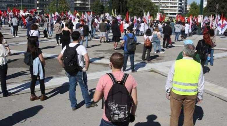 Профсъюзите провеждат шествие при спазване на мерките