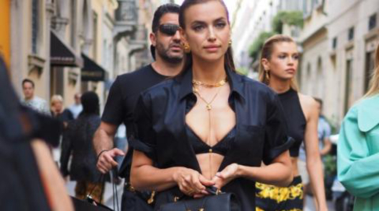 Ирина Шейк демонстрира топ форма на улицата