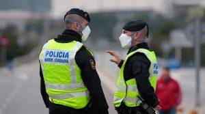 В събота и неделя полицията в Мадрид е разтурила 227 незаконни партита