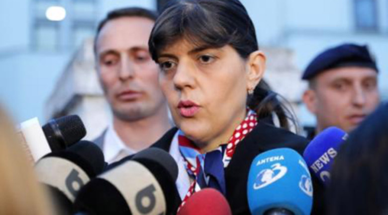 Европейският прокурор Лаура Кьовеши осъди родната си Румъния