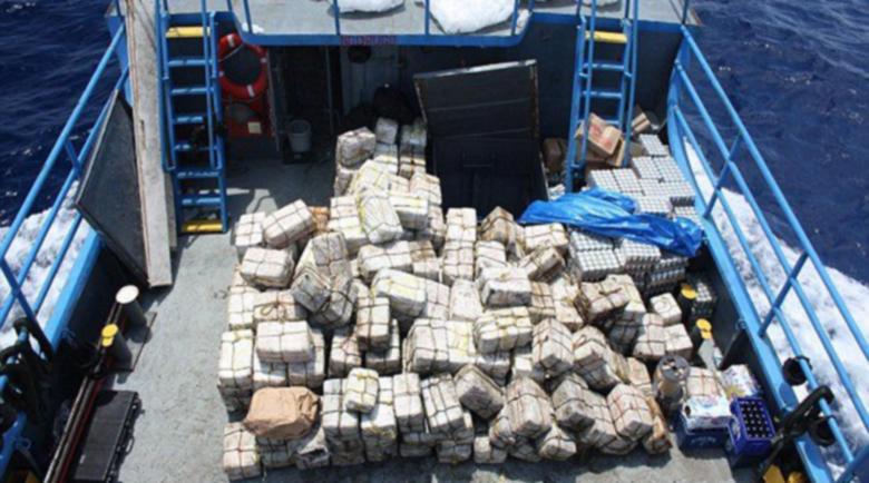"""Половин тон кокаин на борда на черногорския кораб """"Будва"""""""