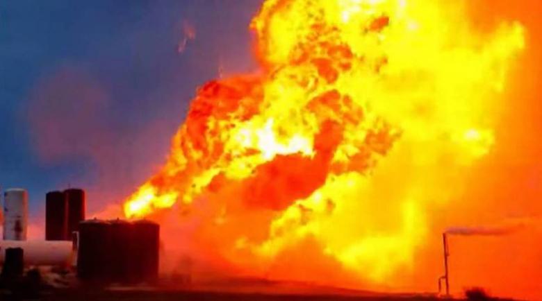 Ракета на SpaceX експлодира по време на тест в Тексас