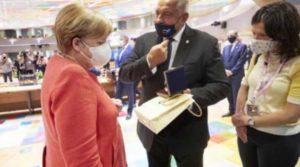 Борисов с личен подарък за Меркел за рождения й ден