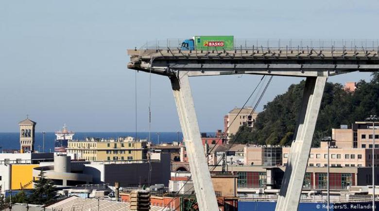 Новият мост на магистралата край Генуа се оказа сбъркан