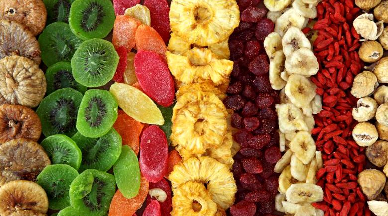 Сушените плодове – плюсове и минуси
