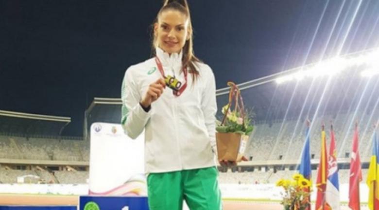 Габи Петрова донесе първо злато за България от Балканиадата