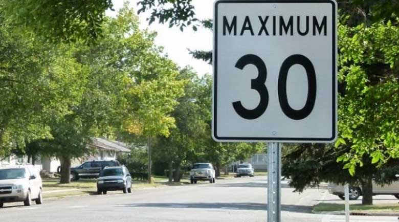 Максимална скорост от 30 км/ч в градовете в Италия