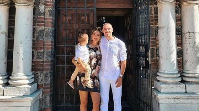 Алекс и Дани Петканови кръстиха малкия Габриел