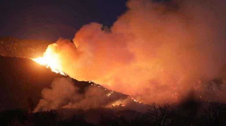 Спасиха с хеликоптери над 200 бедстващи от пожарите в Калифорния