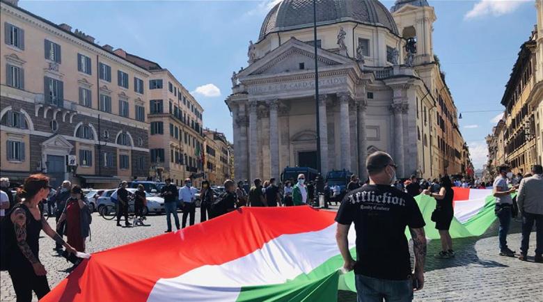 Недоволни италианци реагираха с #Orwell на новите ограничения заради коронавируса