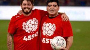 Синът на Марадона научил от журналист за смъртта на баща си