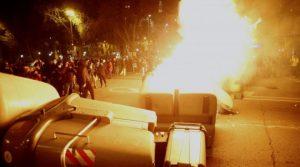 Напрежението в Испания ескалира, четвърта нощ на протести