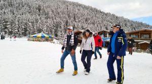 Марияна Николова в Банско: Пътувайте в планината през ученическата ваканция