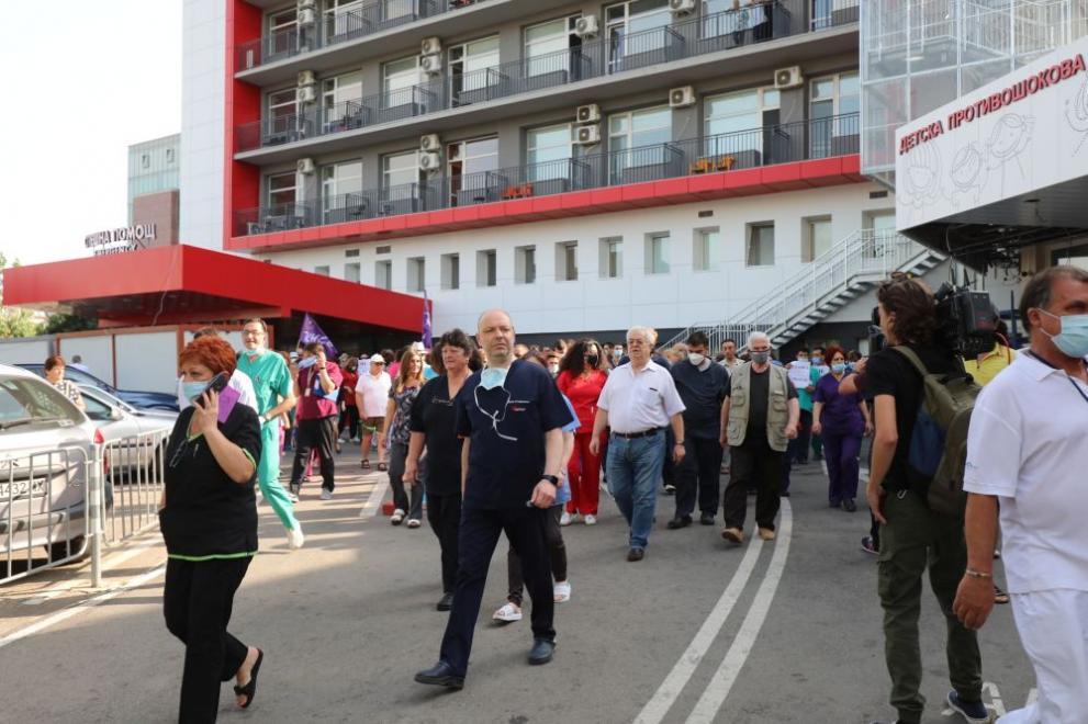 """Ръководството на """"Пирогов"""" реши: Протестите спират"""