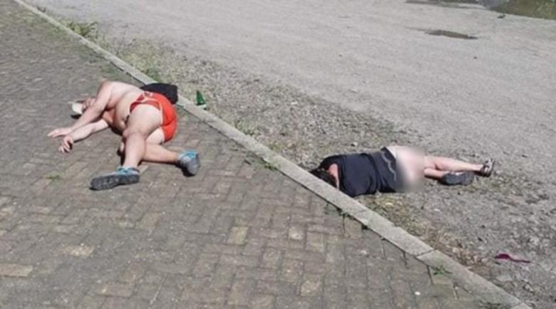 Започна се! Пияни туристи се въргалят из Слънчака – потресаващи кадри