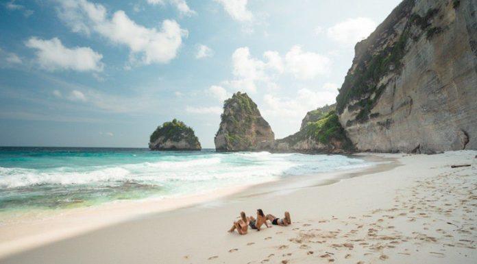 Диамантен плаж, подходящ само за страхотни плувци