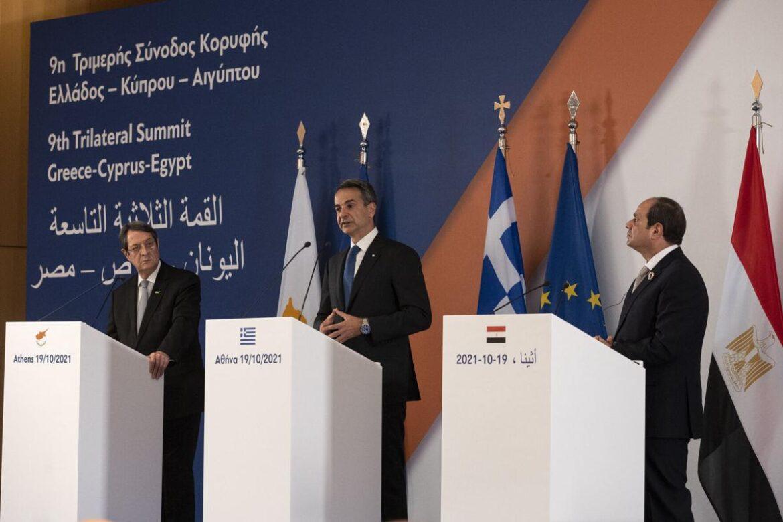 Лидерите на Гърция, Кипър и Египет обсъдиха общи енергийни проекти